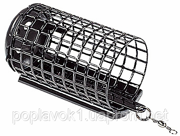 Кормушка фидерная Jaxon AW-OD круглая (с дном) (32/37мм 20г)