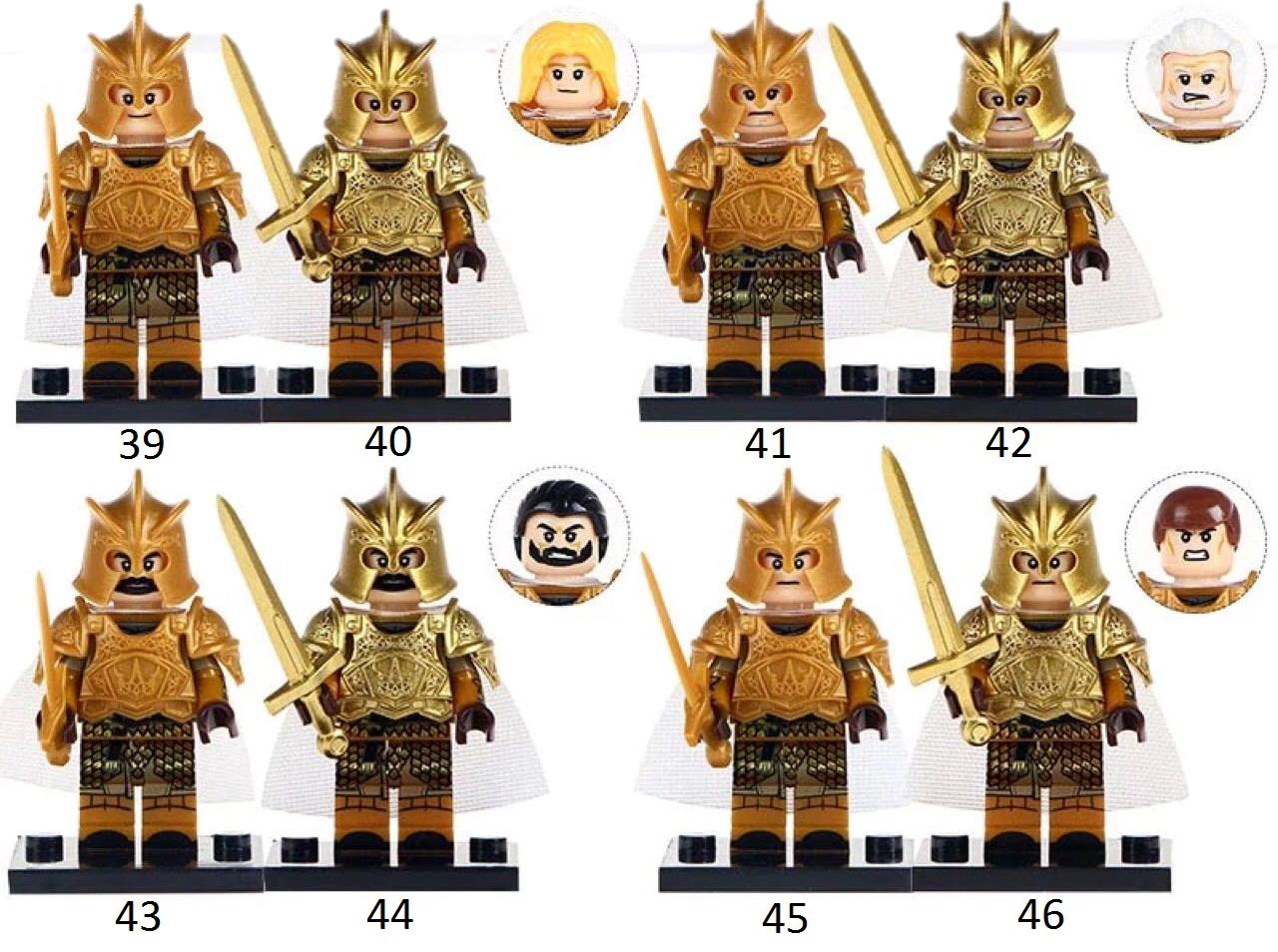 Фигурки Лего lego игра престолов game of throne рыцари солдаты армия