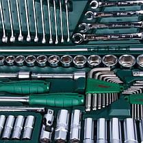 """Универсальный набор инструментов 1/2"""" & 1/4"""" 158 ед., HANS tools TK-158V, фото 2"""