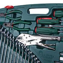 """Универсальный набор инструментов 1/2"""" & 1/4"""" 158 ед., HANS tools TK-158V, фото 3"""