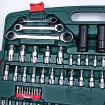 """Набор инструмента 163 предмета 1/4"""", 3/8"""",1/2"""" (TK-163 HANS tools), фото 2"""