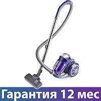 Пылесос Polaris PVC 1730CR фиолетовый, 1700 Вт, безмешковой, щетка пол/ковер, насадка для мебели и щелевая