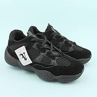 Кроссовки подростковые черные сетка тм Violeta размер 37,38,39,40