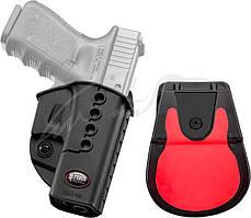 Кобура Fobus для Glock 17/19 поворотная с поясным фиксатором