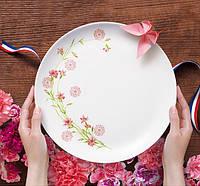 Diwali Romance Pink Тарелка обеденная круглая 27 см Luminarc N3347, фото 1