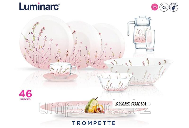 Trompette Сервиз столовый 46 пр Luminarc P1286