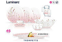 Trompette Сервиз столовый 46 пр Luminarc P1286, фото 1