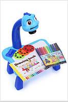 Проектор для рисования YM6886, 24 картинки, синий