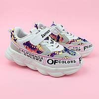Кросівки на дівчинку паєтки тм Violeta розмір 35, фото 1