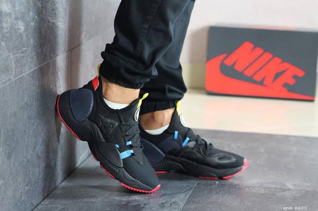 Мужские кроссовки Huarache черные, фото 2