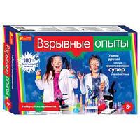 Научные развлечения для детей Ranok-creative  Взрывные опыты