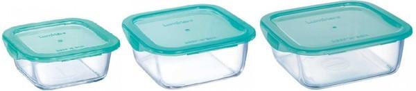 Keep`n`Box Набор емкостей для хранения 3 пр. Luminarc P5274