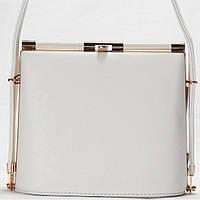 Женская сумка - клатч Giorgio Ferrilli  белого цвета