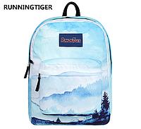 Рюкзак горы голубой