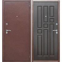 Входная дверь GARDA Гарда 60 Медный антик/Венге (860*2050) R