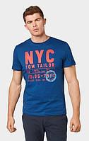 Мужская синяя футболка TOM TAILOR TT 10128320010 16340