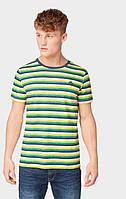Мужская желтая футболка TOM TAILOR Denim TT 10128070012 20088