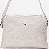 Женская сумка - клатч Giorgio Ferrilli  светло бежевого цвета