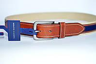 Tommy Hilfiger №7 Мужской кожаный ремень