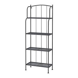 ИКЕА (IKEA) ЛЭККЭ, 201.518.37, Стеллаж, д/сада, серый, 61x160 см - ТОП ПРОДАЖ