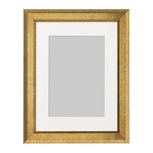 ИКЕА (IKEA) ВИРСЕРУМ, 403.785.33, Рама, золотой, 30x40 см - ТОП ПРОДАЖ
