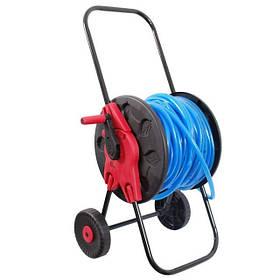 "Катушка на колесах для шланга 1/2"" 60м. PP, steel, ABS (GE-3001 Intertool)"