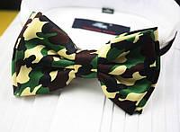 Бабочка галстук милитари