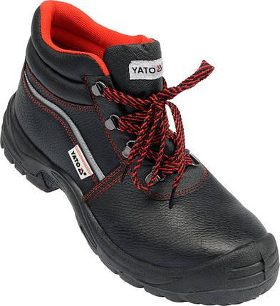 Ботинки рабочие, категория S3, разм. 45, YT-80789 YATO, фото 2