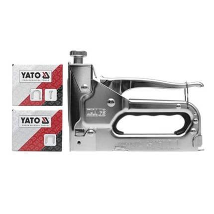 Степлер 3-х функц. ПРОФИ 6-14мм, YT-7000 YATO, фото 2