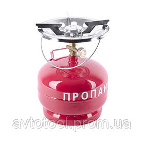 Комплект газовый кемпинговый 5 л. (GS-0005 Intertool)