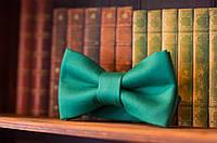 Бабочка галстук цвет морская волна