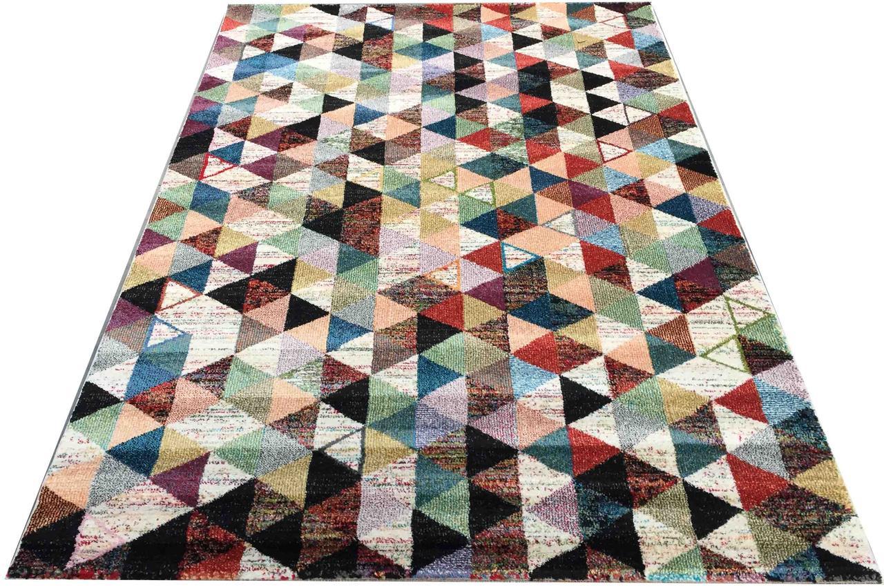 Ковер RAINBOW 14 COLORS 4118a 0,8*1,5, CREAM, Прямоугольник