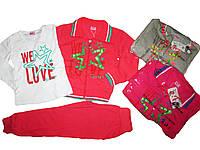 Трикотажный костюм-тройка для девочек, размеры 98-128. BST, арт. 6317