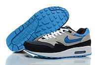 Кроссовки мужские Nike Air Max 87 Серо-голубые . кроссовки найк, кроссовки air, max кроссовки