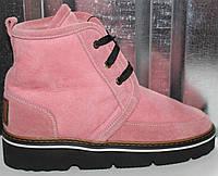 Ботинки розовые зимние от производителя модель РИ103-1, фото 1
