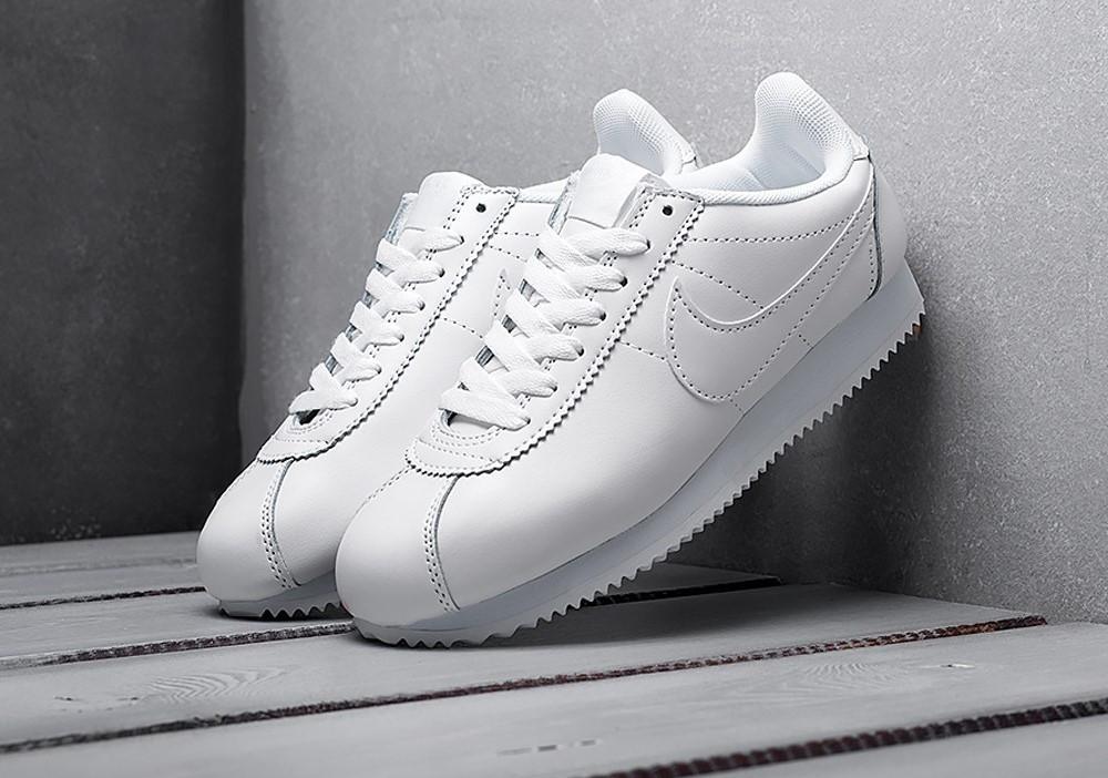 Мужские кроссовки Nike Cortez White Leather