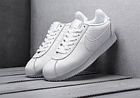 Мужские кроссовки Nike Cortez White Leather, фото 1