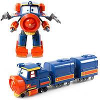 Игровой набор Трансформер Виктор - Игрушка Роботы Поезда, Silverlit