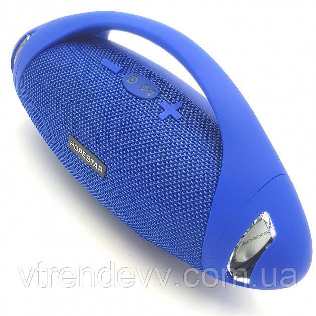 Колонка портативная Hopestar H37 Original синяя