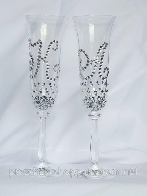Свадебные бокалы BА 037