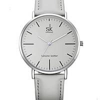Shengke Женские часы Shengke Leather Grey