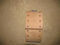 Колодка тормозная МАЗ-64229,5551 с накладкой левая (ширина160мм)