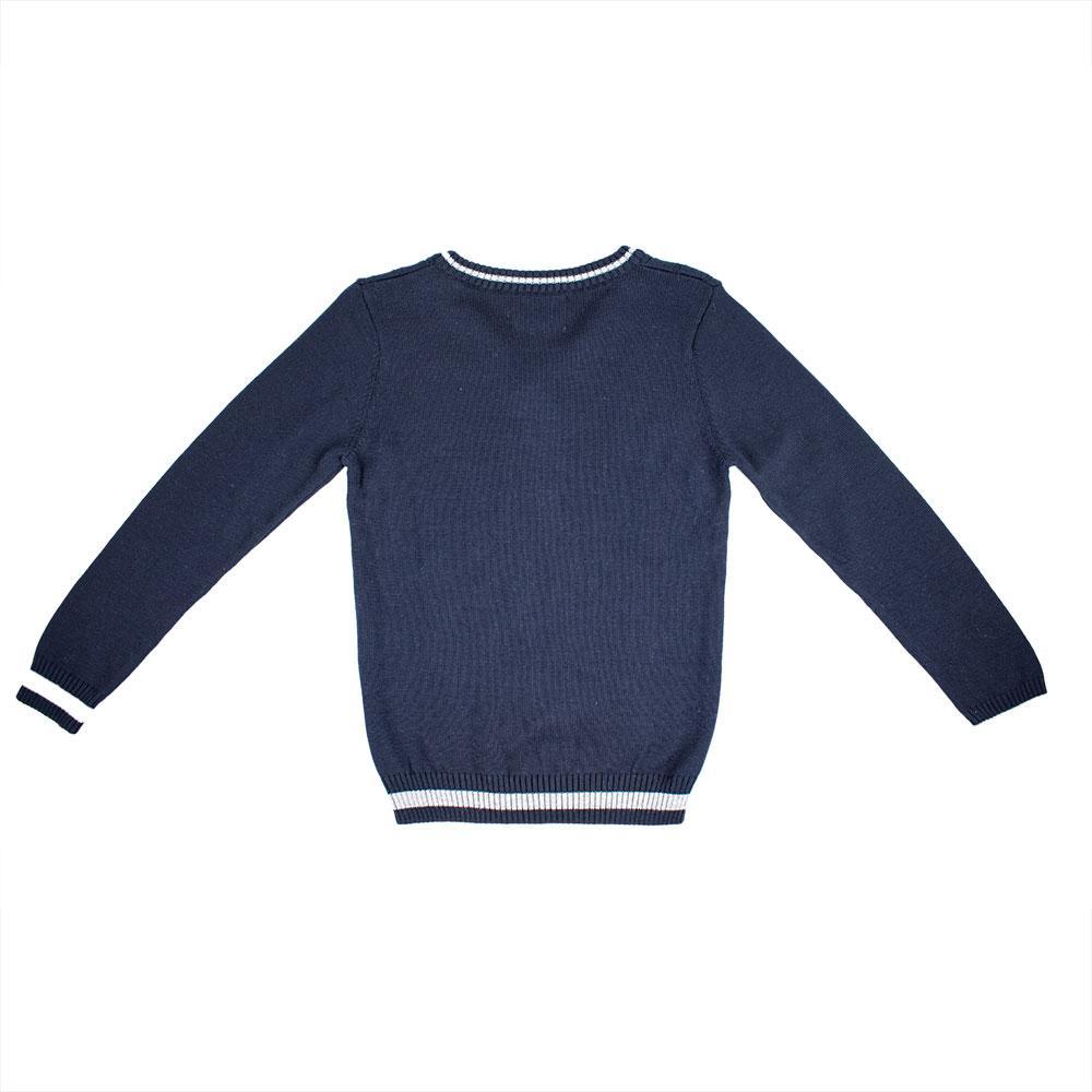 Джемпер для мальчиков A-yugi 116-164  синий 17035