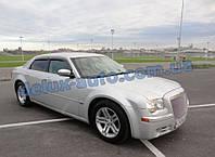 Ветровики Cobra Tuning на авто Chrysler 300C Sd 2004-2011 Дефлекторы окон Кобра для Крайслер 300С седан 2004