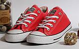 Кеды Converse All Star красный 37 размер - 23,5 см стелька, фото 2