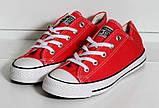 Кеды Converse All Star красный 37 размер - 23,5 см стелька, фото 6