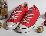 Кеды Converse All Star красный 37 размер - 23,5 см стелька, фото 7