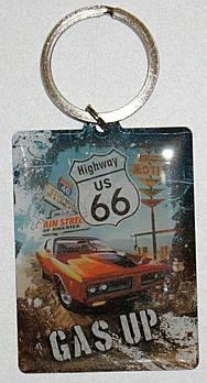 Брелок Nostalgic-Art Highway US 66 - Survivor