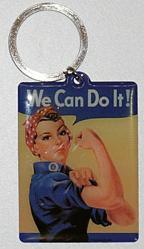 Брелок Nostalgic-Art We can do it