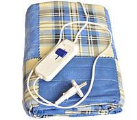 Электропростынь electric blanket 150*120 sky blue